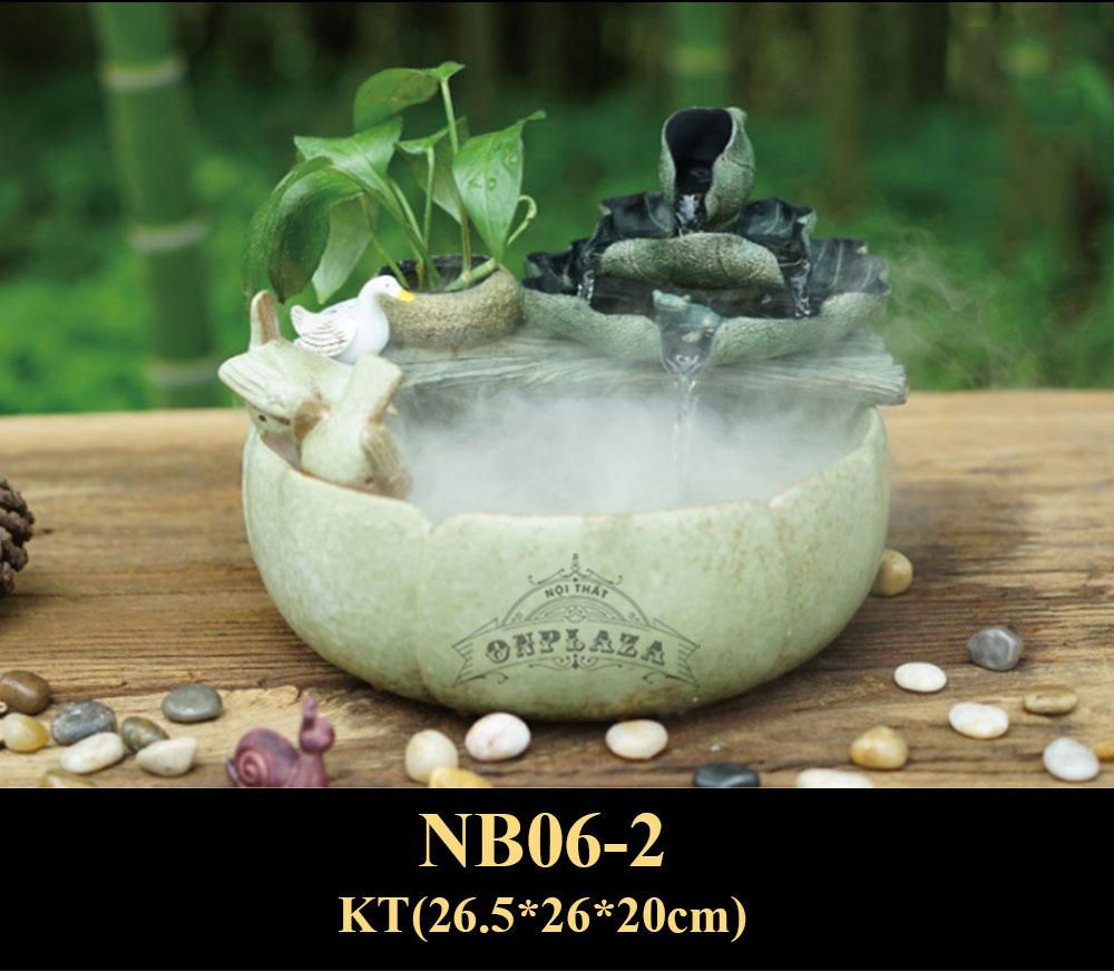 Chậu tiểu cảnh nhỏ trang trí NB06