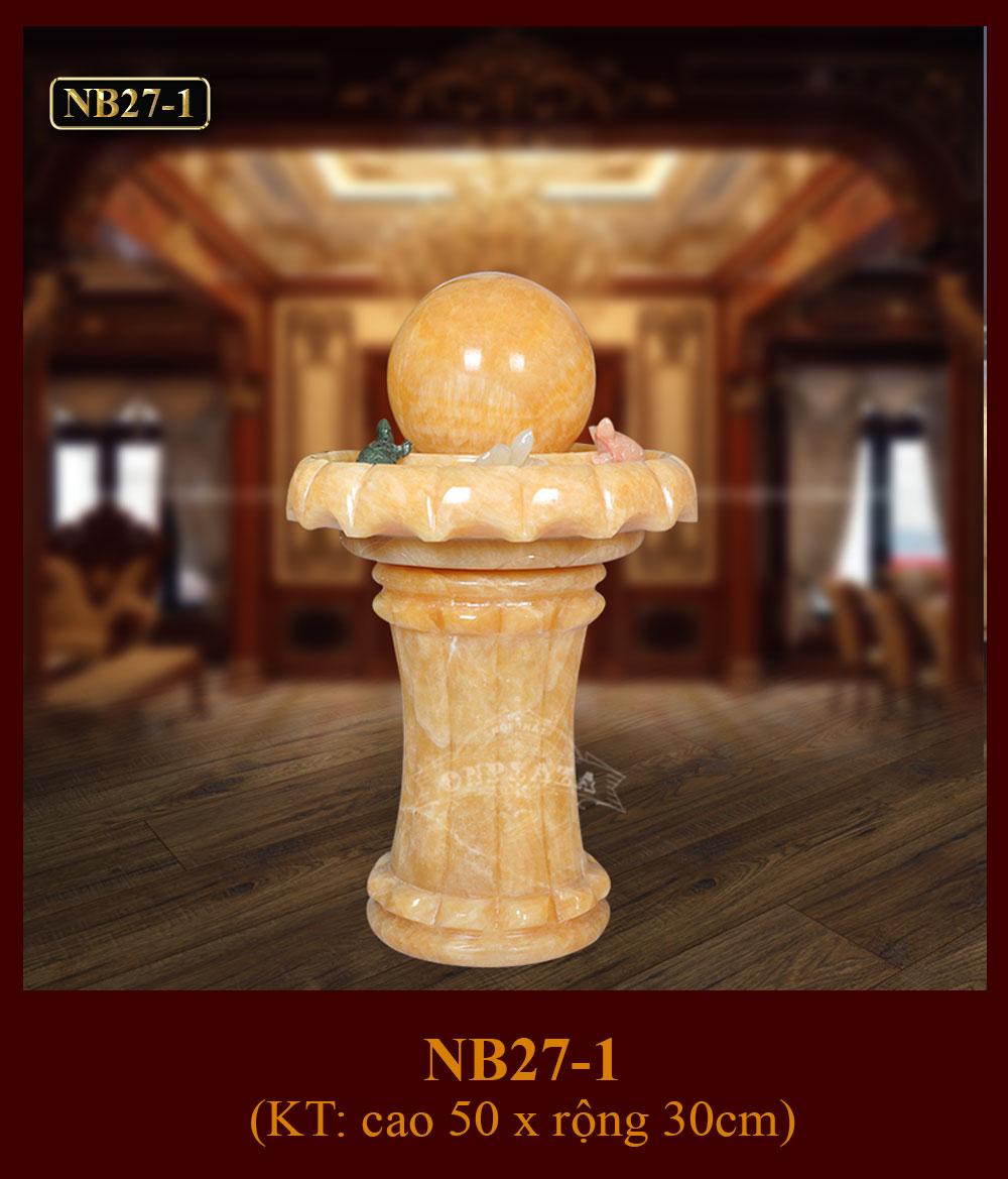 Quả cầu nước phong thủy trưng bày phòng khách sang trọng NB27