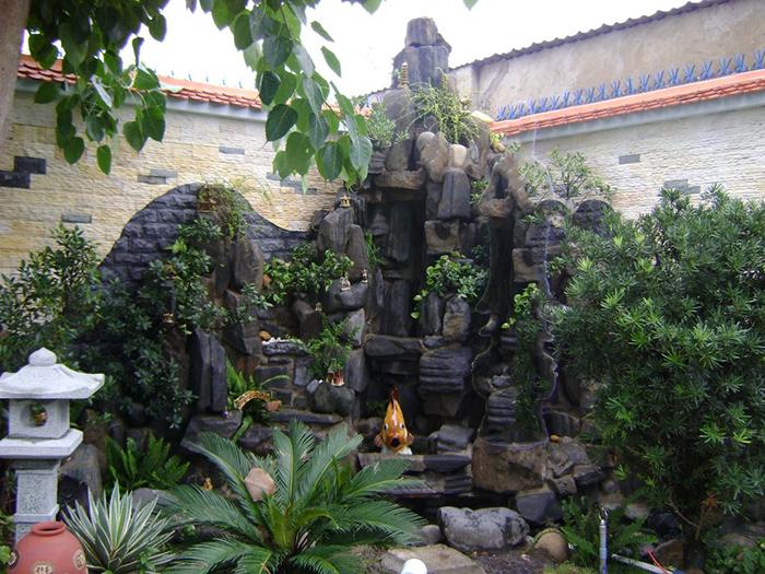 Phong thủy sân vườn tiểu cảnh và cách bài trí