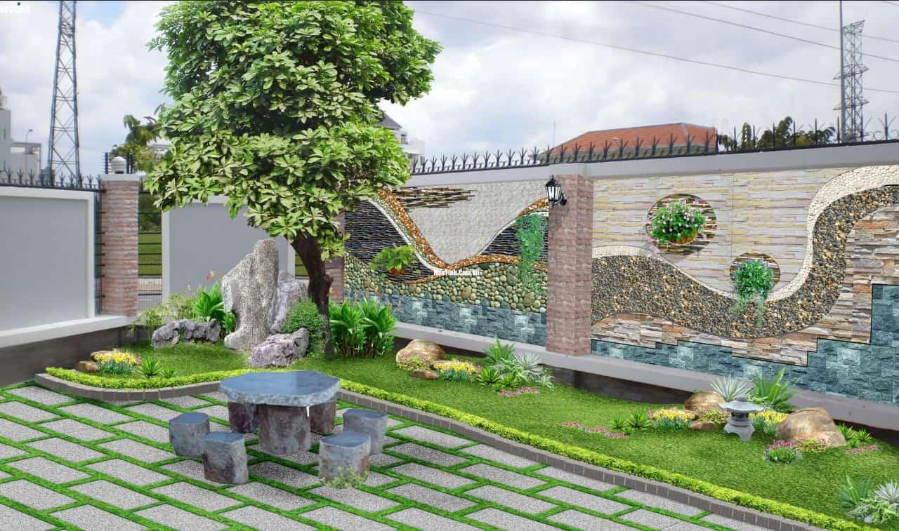 Tiểu cảnh sân vườn tại nonbo.net.vn