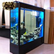 Bể cá cảnh đứng dài 2m phong cách châu Âu sang trọng BC18-2