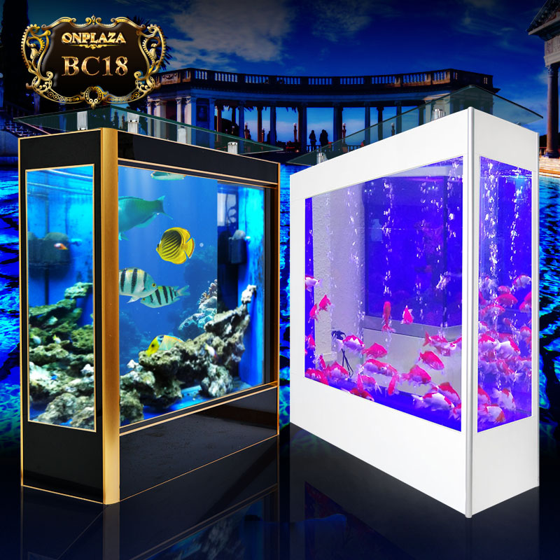 Bể cá cảnh đứng dài 2m phong cách châu Âu sang trọng BC18