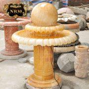 Quả cầu đài nước phong thủy đá cẩm thạch cao cấp NB30 1