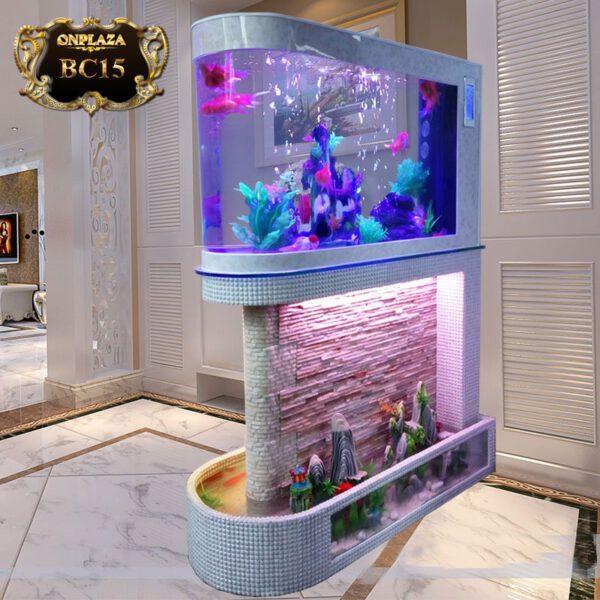 Bể cá thủy sinh thiết kế đặc biệt nhập khẩu cao cấp BC15