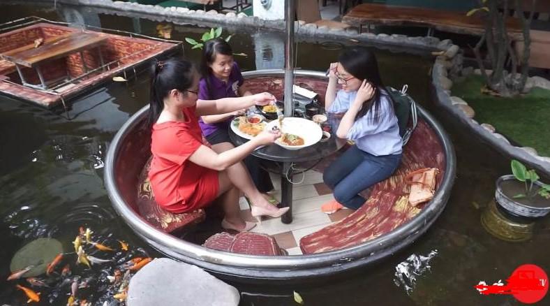 Cafe cá koi - oasis