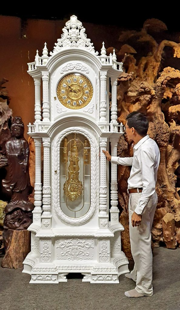 Đồng hồ cây gỗ cao cấp