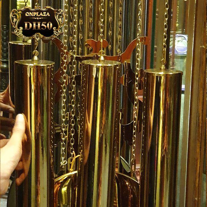Đồng hồ tủ sáo DH50 9 ống chơi 3 bản melody hiệu Hermle 4